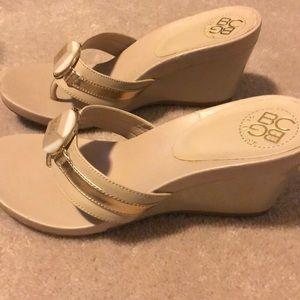 BCBG Wedge Sandal